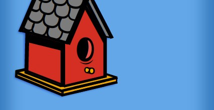 <b>Birdhouse</b>– Fontify Illustration